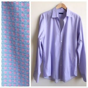 Zachary Prell 100% Cotton Dress Shirt